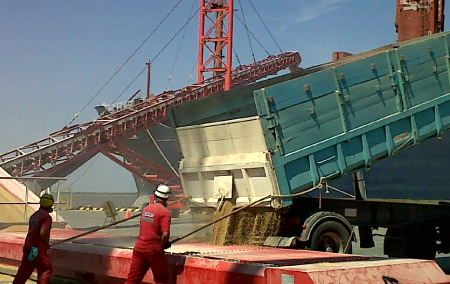 Operaciones en playas portuarias y extra portuarias