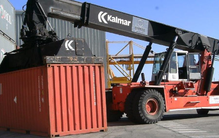 Transportes en área portuaria